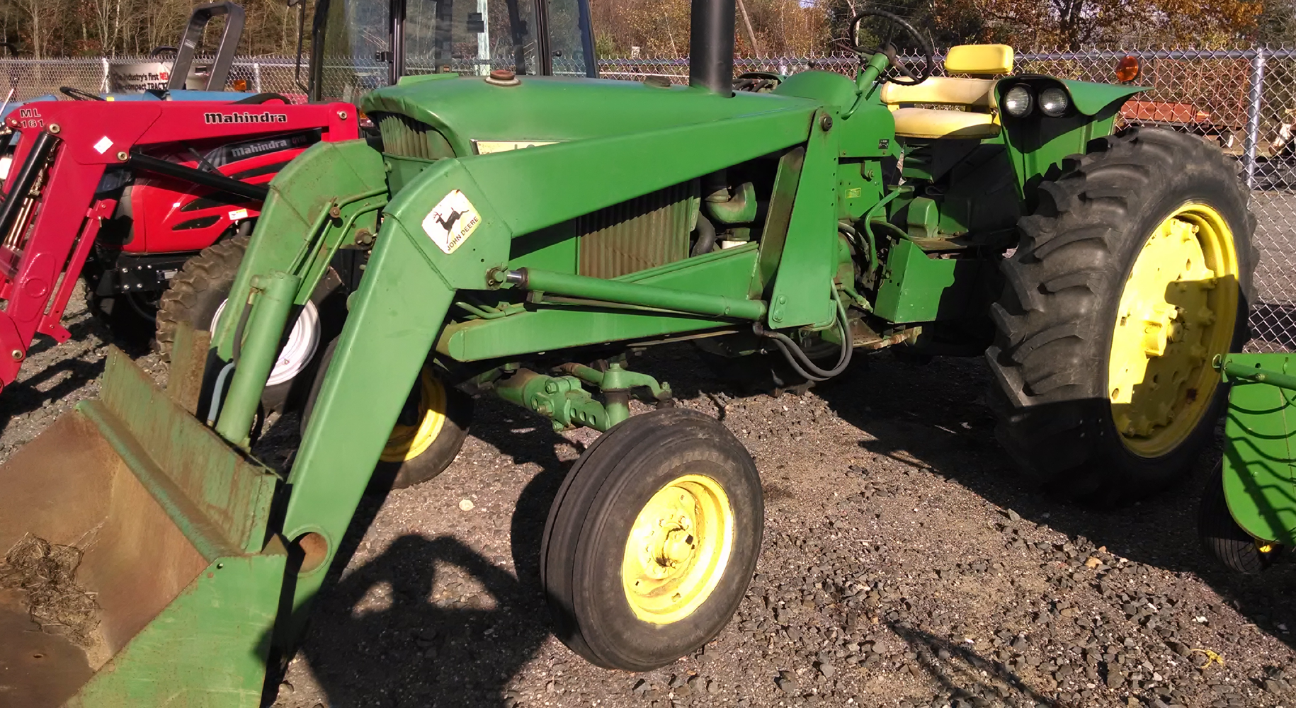 John deere 3020 tractor with loader tractor has 5 600 hrs engine has