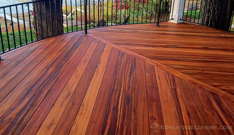 Wood decking for Exterior wood decking materials